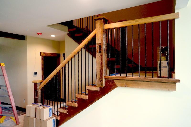 No voc paint stain in grand teton eco smart home - No voc exterior paint concept ...