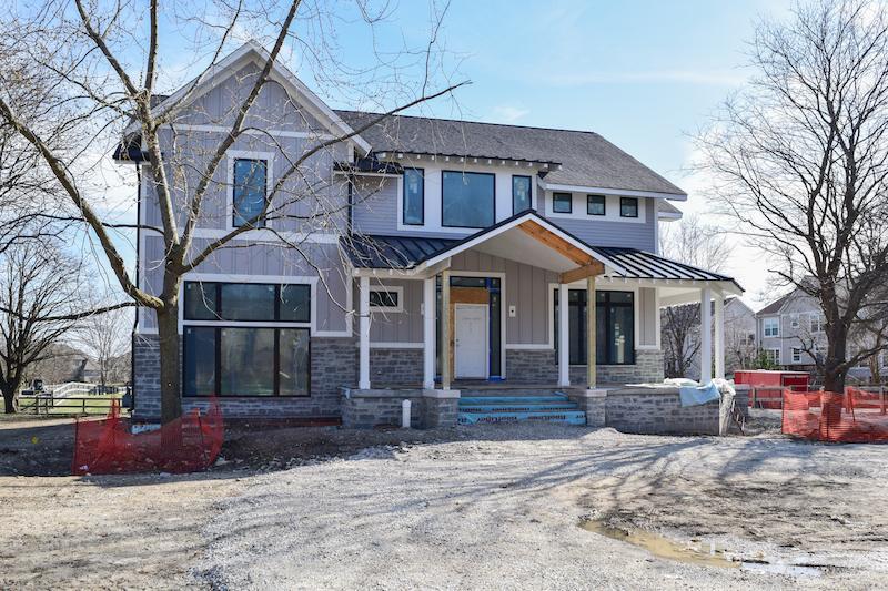 "Siding & Masonry In ""Modern Farm House"" Eco-Smart Home"