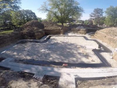 DJK Modern Farm House Eco-Smart Home Footings & Foundation 4