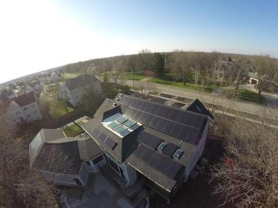 DJK Modern Farm House Eco-Smart Home Suniva Solar Array System