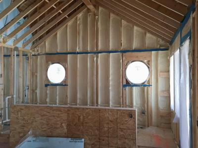 DJK  Modern Farm House  Eco-Smart Home Insulation