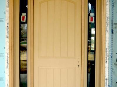 DJK Homes Eco-Smart Therma-Tru Front Door