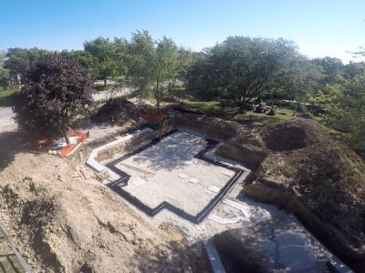 DJK Modern Farm House Eco-Smart Home Footings & Foundation 1