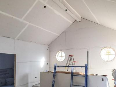 DJK %22Modern Farm House%22 Eco-Smart Home Drywall Stage 19